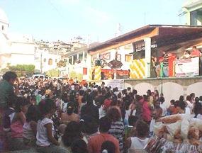 Celebra día de reyes Natividad Tornez de Baldovinos en Coyuca de Benítez