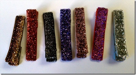 Cece - sparkle clippies