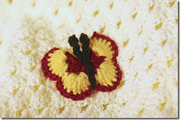 Flower-Butterfly blanket 4