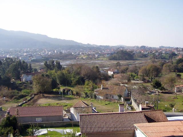 Paisaxe da foz do Lagares
