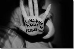 glemt