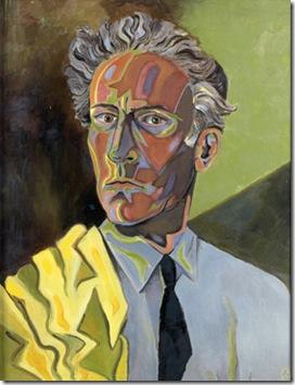 cocteau autoportrait