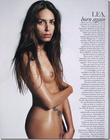 lea trans naked
