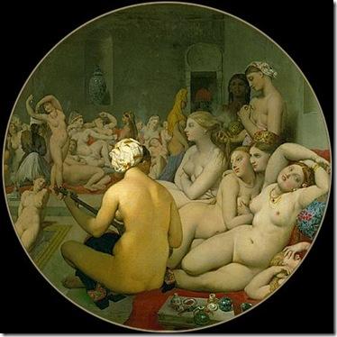 Jean Auguste Dominique Ingres - Le Bain Turc