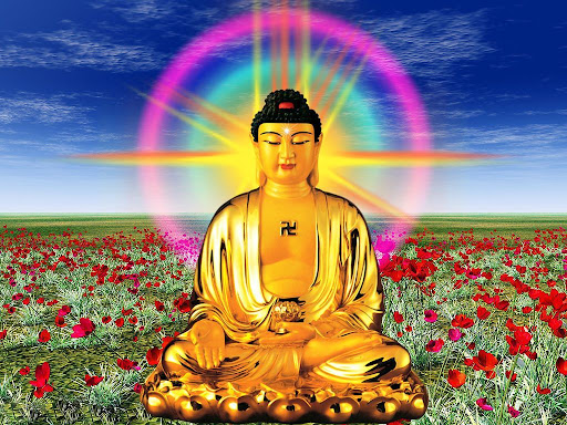Buda amitabha dragompa Mas alfombrar