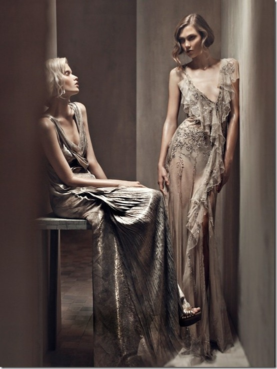 donna karan ss2011 patrick demarchelier karlie kloss abbey lee_5