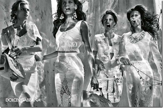 dolce gabbana spring2011 steven klein alessandra marina isabeli izabel4