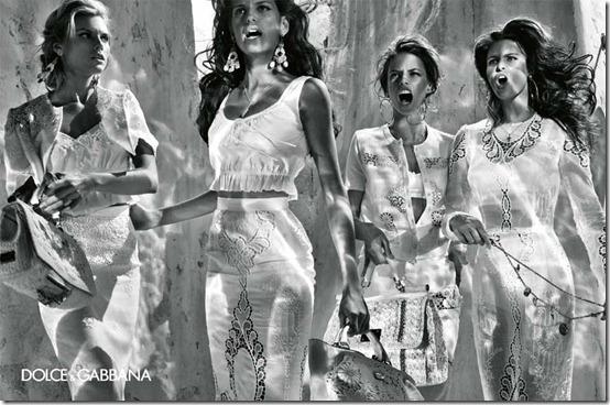 dolce gabbana spring2011 steven klein alessandra marina isabeli izabel4