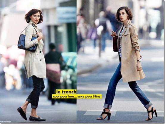 Parisian chic by Ines de la Fressange, fashion and style book. Parisiennes style secrets. French women fashion and style secrets. Parisian style. Parisian fashion tips. Via fashioned by love, british fashion blog