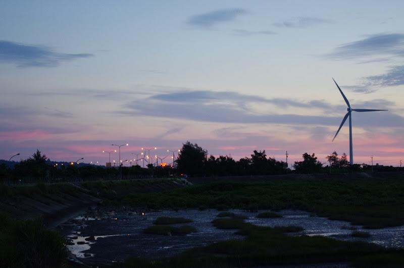 西濱。落日