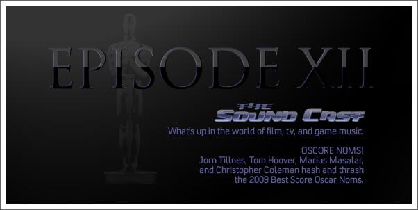 Soundcast Episode 12 - Oscore Noms!