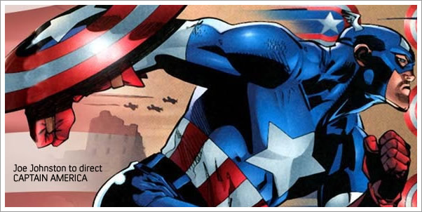 Joe Johnston to direct Captain America.  Who should score it?