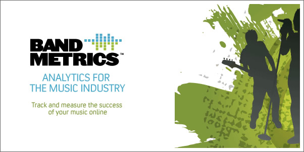 How Well is Your Music Doing Online?  Try Band Metrics
