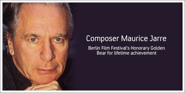 Maurice Jarre Receives Lifetime Achievement Award