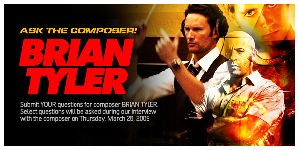 Ask Composer Brian Tyler!
