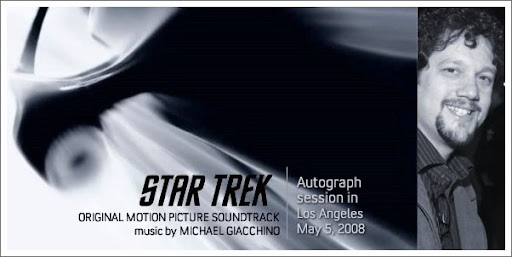 Star Trek by Michael Giacchino: Autograph Session in Los Angeles