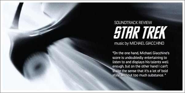 Star Trek by Michael Giacchino (Soundtrack Review)