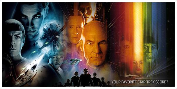 Vote for Your Favorite Star Trek Film Score