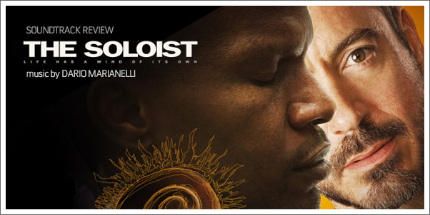 The Soloist (Soundtrack) by Dario Marianelli - Review