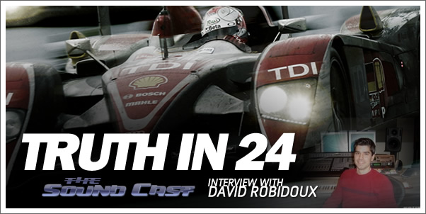 SoundCast Interview with David Robidoux (Truth in 24)