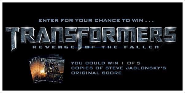 Win Transformers:  Revenge of the Fallen (Original Score) by Steve Jablonsky