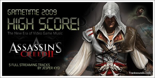 Listen to 5 Tracks from Assassin's Creed 2 by Jesper Kyd