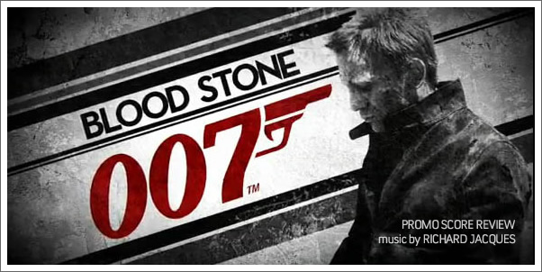 007 Bloodstone (Promo Game Score) by Richard Jacques - Review