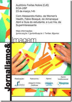 E-flyer Jornalismo & Imagem