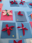 To wear as pins or hair clips, these festive holiday corsages made by Athena are the perfect gift.