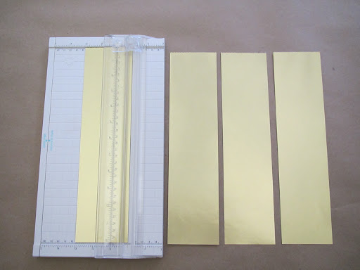 ...or you can use the Martha Stewarts Crafts Paper Trimmer to do the exact same thing.