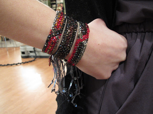 Bracelets look great grouped together