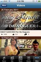 Screenshot of Daisy Sanchez