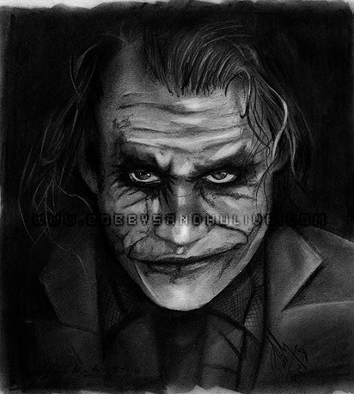 Dark Knight Pencil - %BLOG_TITLE%