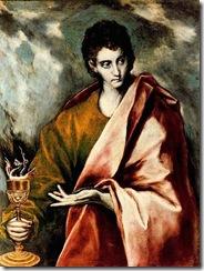 Índice de Biografías - El Greco - San Juan Evangelista
