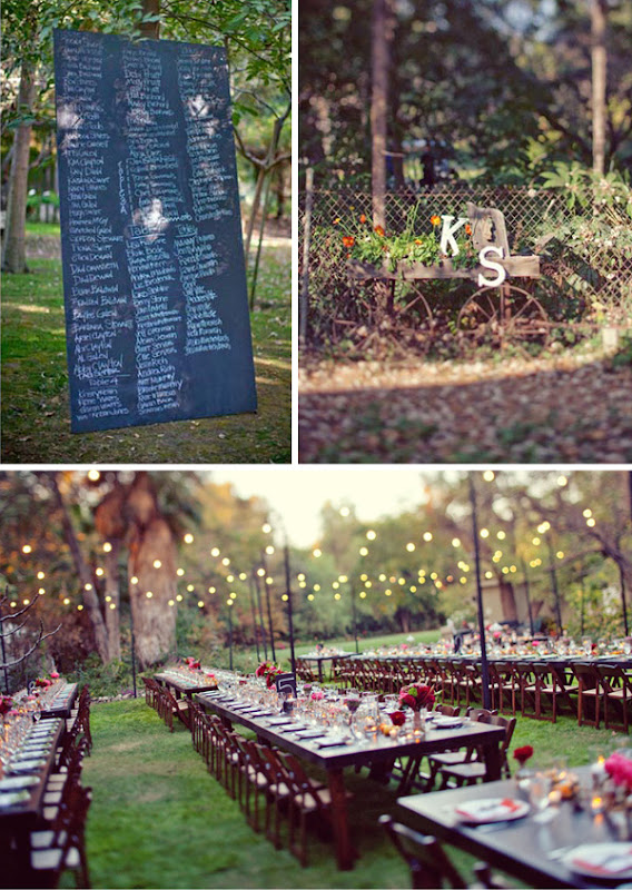 Informal Backyard Wedding Reception Ideas Loved the layered