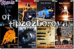 Themes for Sony Ericsson (Pack 2)