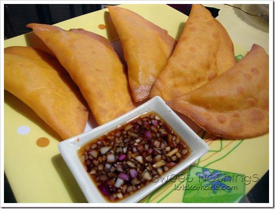 vigan empanada without the orange hue