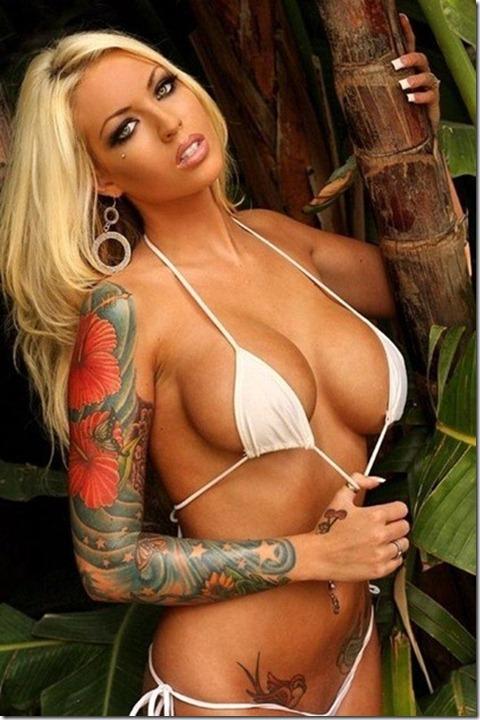 tattoo women girls sexy17
