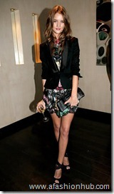 Rosie Huntington-Whiteley Burberry and GQ Dinner Oct 08 (10)