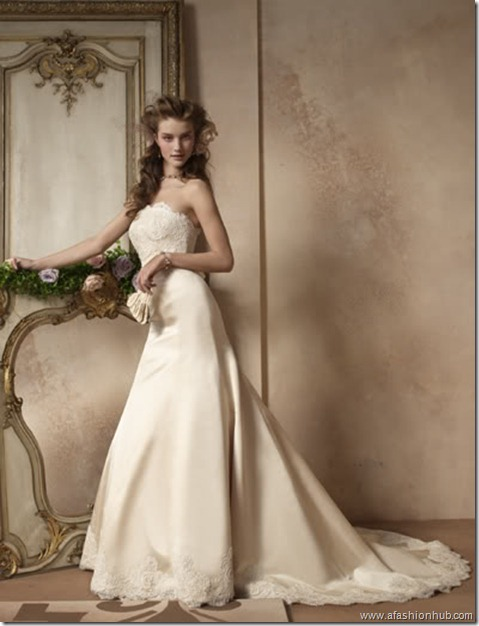 Rosie Huntington-Whiteley Alvina Valenta Bridal Collection (4)