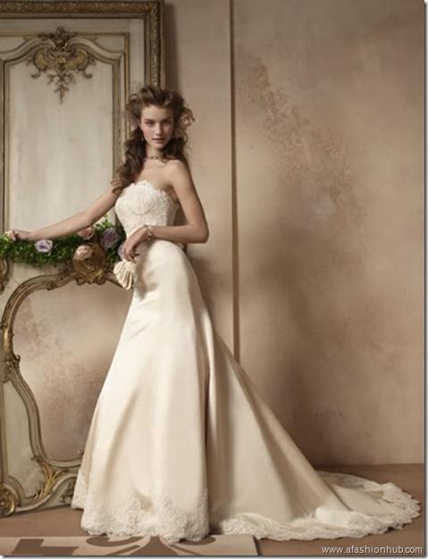 Rosie Huntington-Whiteley Alvina Valenta Bridal Collection (4)