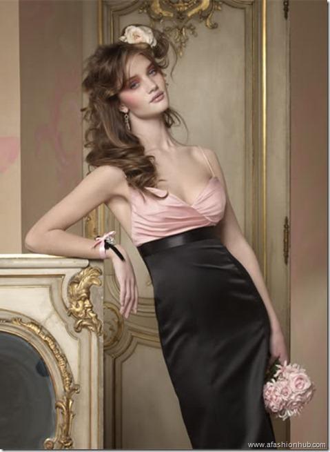 Rosie Huntington-Whiteley Alvina Valenta Bridal Collection (18)
