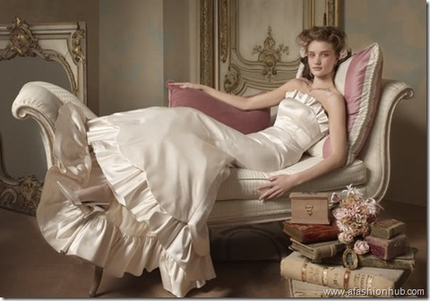 Rosie Huntington-Whiteley Alvina Valenta Bridal Collection (27)