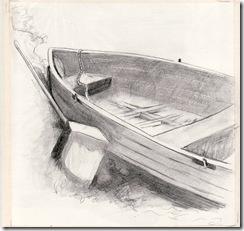 Berts boat sketch