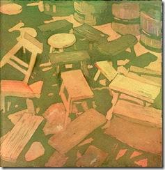 flea market series #6 stools