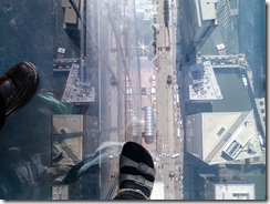 Sears tower and foot