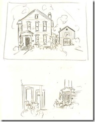 Peggy's house rough sketch