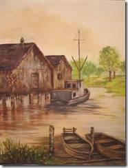fishing shack oil