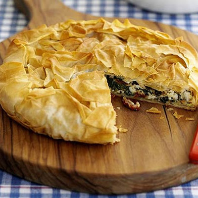Crispy Greek-style pie