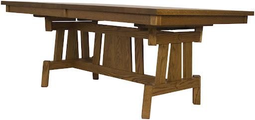"""70"""" x 42"""" Shenzen Table in Autumn Oak"""